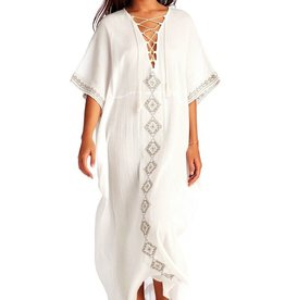 Kaftan Vitamin A - Isabell Long Caftan Embroidered Gauze