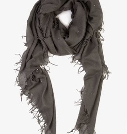 Scarves Chan Luu - Castlerock Scattered Sequins Cashmere and Silk Scarf