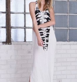 Dresses felicite - Racer Maxi Tye Dye Tank Dress