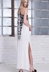 Dresses felicite - Racer Maxi Tye Dye Tank Dress