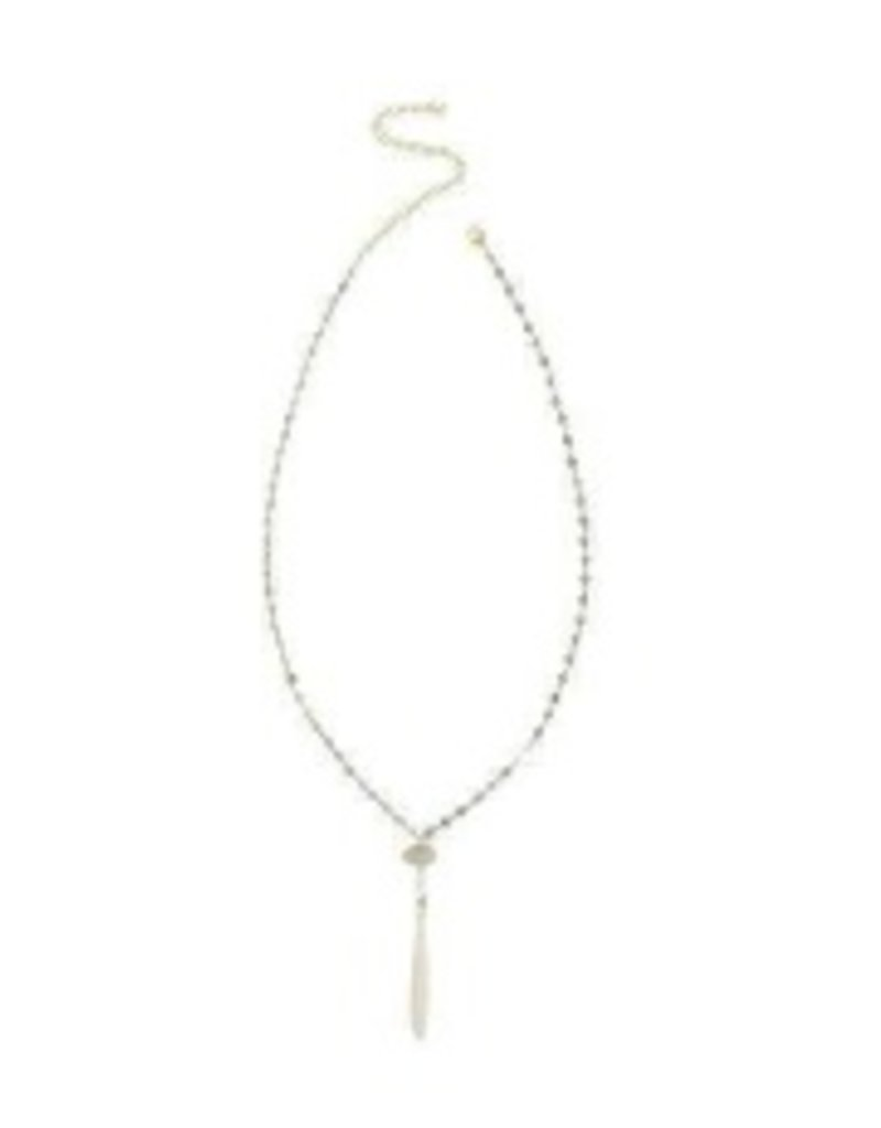 Necklaces Chan Luu - White Mix Adjustable Necklace