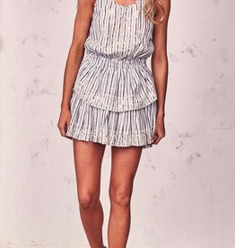 Dresses Love Shack Fancy - Ruffle Racer Mini Dress
