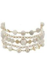 Bracelets Chan Luu - White Mix Bracelet