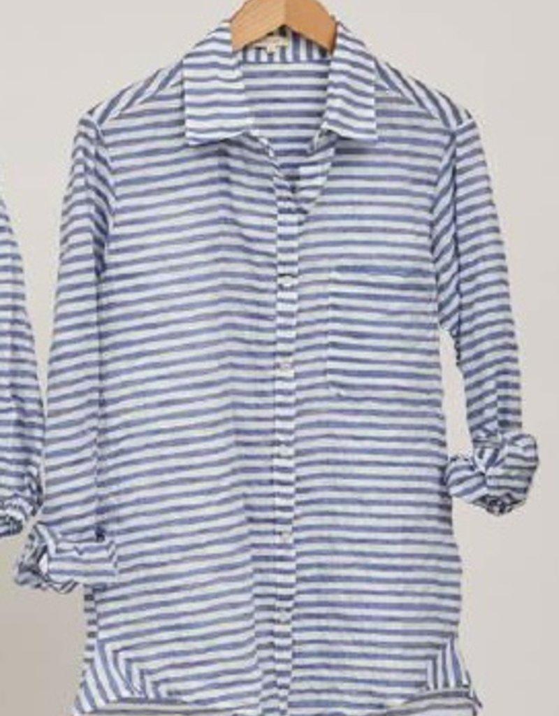 Tops felicite - Boyfriend Stripe Shirt