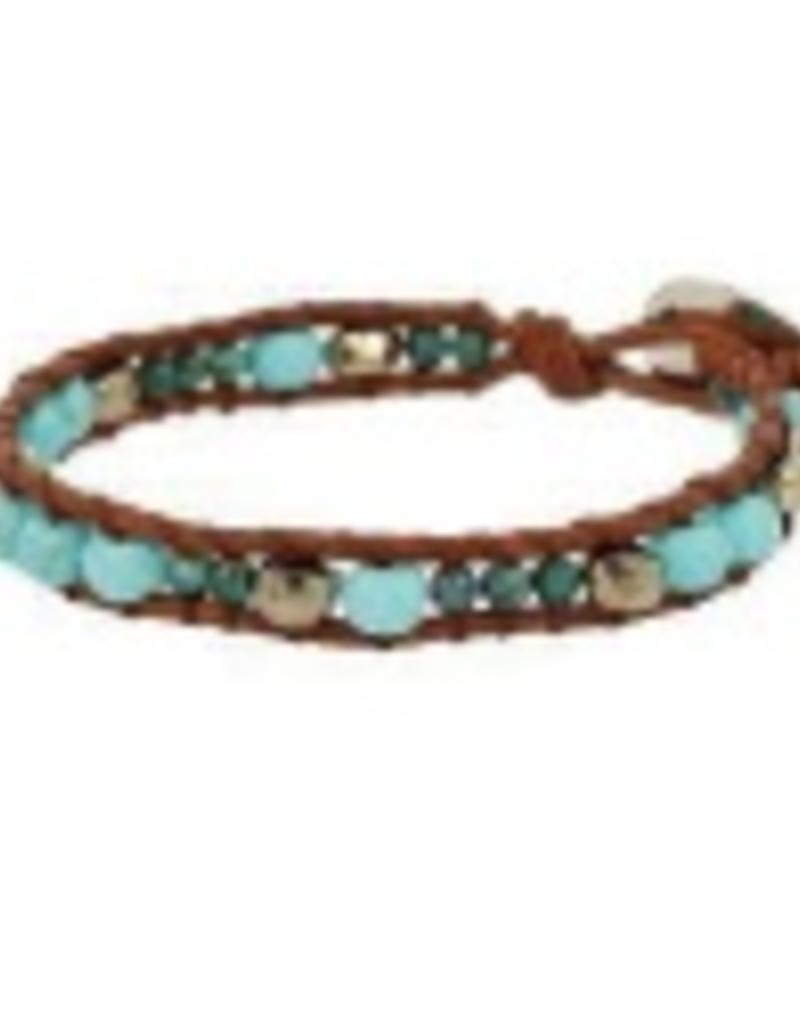 leather bracelets wrap double bead and wholesale woven bracelet beaded popular necklace