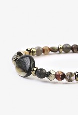 Bracelets Chan Luu - Abalone Mix Adjustable Bracelet