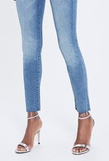 Jeans MOTHER - Looker Ankle Fray in Birds Of Paradise