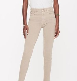 Jeans MOTHER - High Waisted Looker Ankle Fray in Pretty Just Strolled In The City Khaki