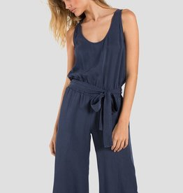 Jumper bella dahl - Belted Tank Crop Jumper in Nocturne Blue