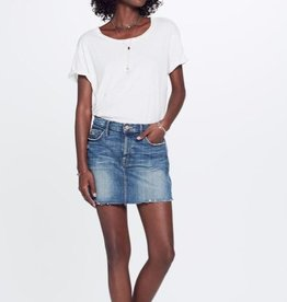 Skirt MOTHER - The Vagabond Mini Skirt in Natural Born Trouble