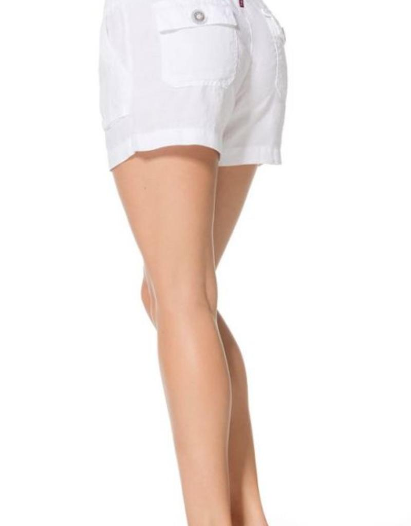 Shorts Hard Tail - Slouchy Cargo Linen Shorts