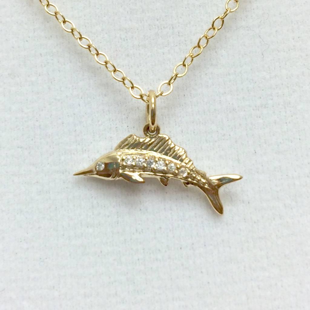 Sailfish - CZ Gold Filled