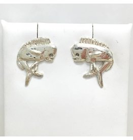 Sterling Mahi Stud Earrings