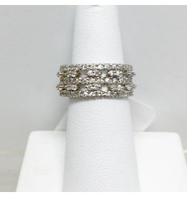 CZ Band Ring