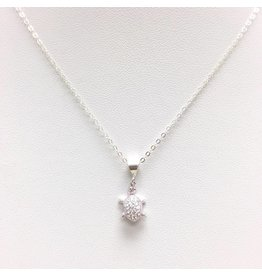 Turtle - CZ Silver