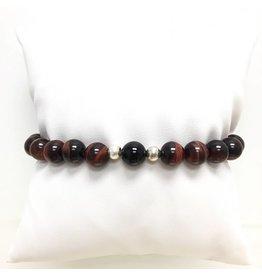 Men's Sterling & Tigereye Bracelets