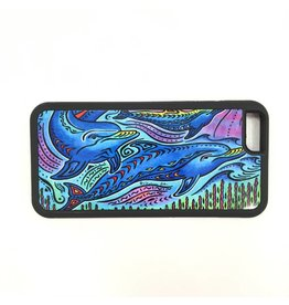 3 Dolphins Phone Case