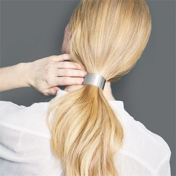 Gold Metal Hair Cuff