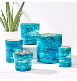 Azure Small Candle Holder