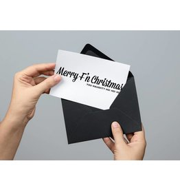 Merry F'N Christmas, You Naughty Ho! Ho! Ho! Card