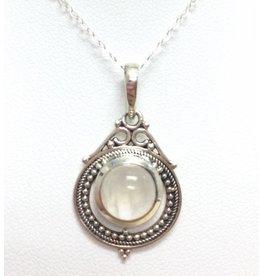 Delicate Moonstone Pendant