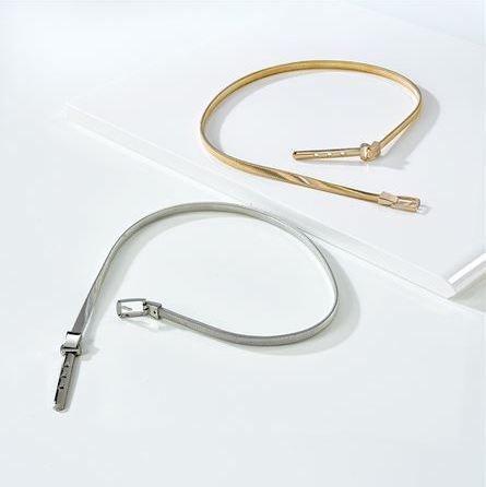 Thin Stretch Metal Belt
