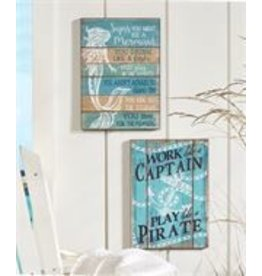 Captain Wall Sign