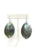 Abalone Statement  Earrings