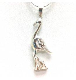 Sterling Silver Blue Heron