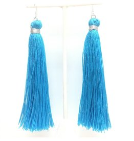 Silk Tassel Earrings (More Colors)