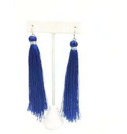 Game Day Tassel Earrings (More Colors)