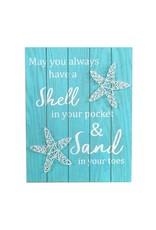 Shell In Pocket String Art