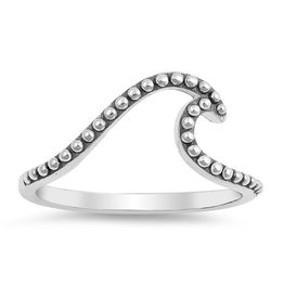 Sidney Imports Sterling Bali Wave Ring