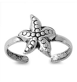 Sidney Imports Sterling Starfish Toe Ring