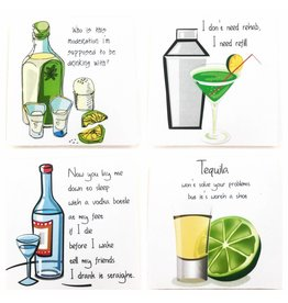 "Mariasch ""Cocktail"" Coasters (Set of 4)"