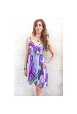 Tootsie Wrap Dress Mirage Pitaya