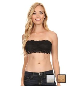 Black Lace Bandeau S/M