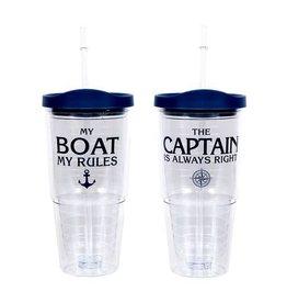 Boat/Capt. Ins. Tumbler