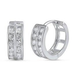 Sterling Huggie Earrings SI