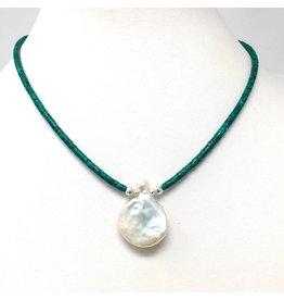 Keshi Petal Pearl & Turquoise