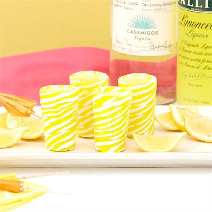 Candy Shot Glasses-Lemon Drop