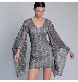 Grey Texture Diana Dress
