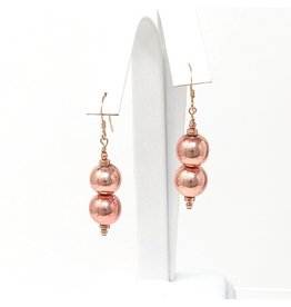 Rose Gold Hrematite Earrings