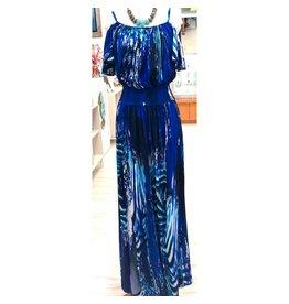 Ocean Blue Flamenco Dress