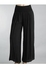 Black Silk Pants