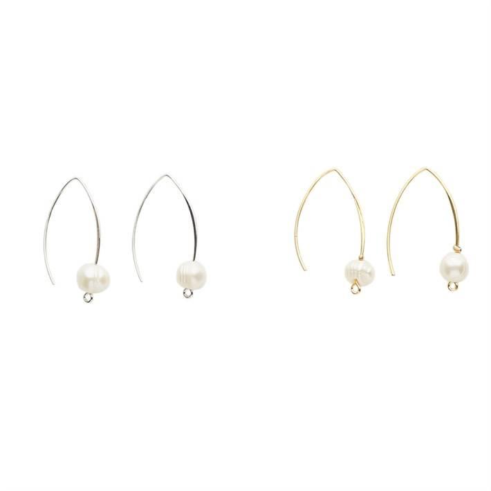 Deep Sea Diva Pearl Earrings