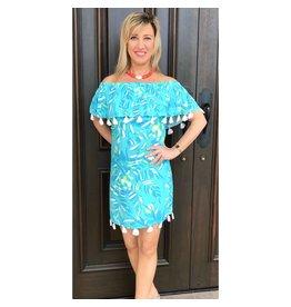 Aqua/Seaglass Jungle Monica Dress