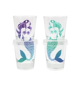 Stacking Mermaid Shotglass Set