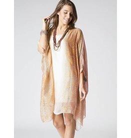 Mauve Silk Slip Dress