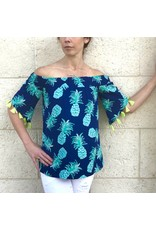 Aegean Blue/Turq Trop Michaela Top